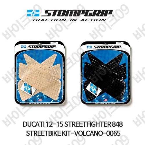 두카티 12-15 스트리트파이터 848 STREETBIKE KIT-VOLCANO-0065 스텀프 테크스팩 오토바이 니그립 패드