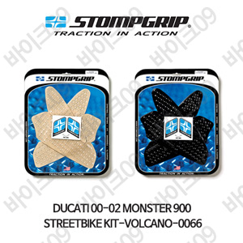 두카티 00-02 몬스터900 STREETBIKE KIT-VOLCANO-0066 스텀프 테크스팩 오토바이 니그립 패드