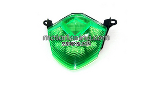 테일라이트/데루등/Kawasaki ZX-6R 2009-2011 Tail Light Green 30
