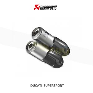 아크라포빅 튜닝 머플러 두카티 SUPERSPORT 슬립온 EXHAUST 96481201A