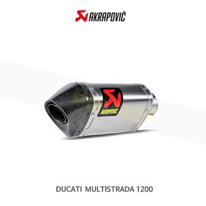 아크라포빅 튜닝 머플러 두카티 멀티스트라다1200 슬립온 EXHAUST S-D12SO1-HAPT