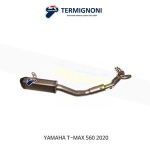 떼르미뇨니 COMPLETE EXHAUST 티타늄 야마하 T맥스560 (20) Y11309000ITC