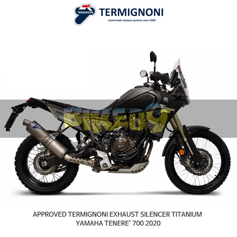 떼르미뇨니 오토바이 머플러 YAMAHA 야마하 테네레700 (2020) APPROVED 티탄 슬립온