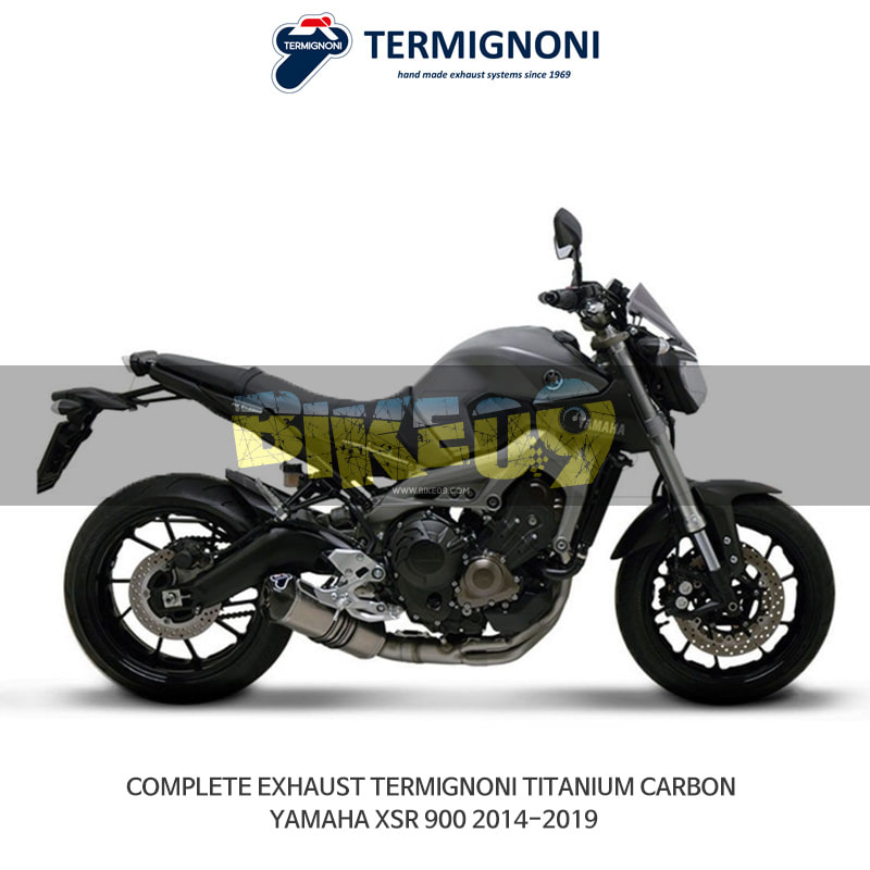 떼르미뇨니 오토바이 머플러 YAMAHA 야마하 XSR900 (14-19) 티탄 카본 풀시스템