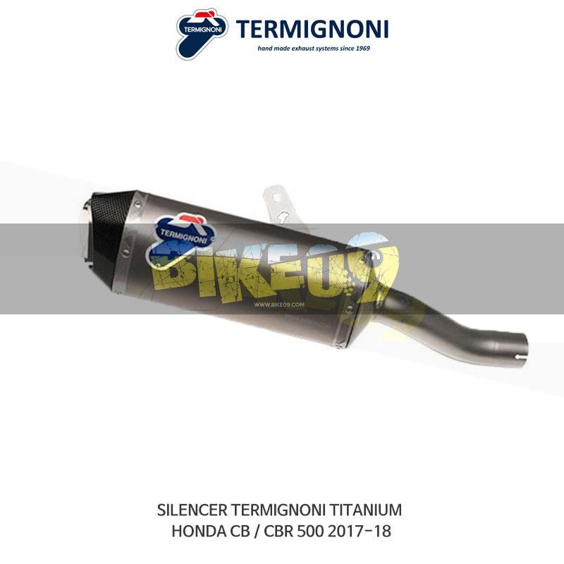 떼르미뇨니 오토바이 머플러 HONDA 혼다 CB/CBR500 (17-18) 티탄 슬립온