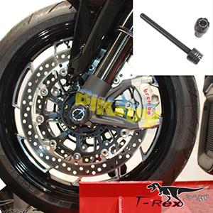 티렉스 포크슬라이더 두카티 DUCATI 멀티스트라다1200(10-17) Front Quick Release Axle Sliders GB레이싱