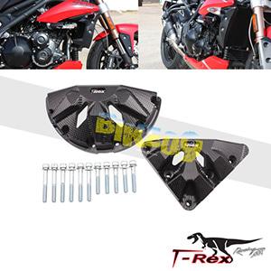 티렉스 엔진케이스 커버 가드 슬라이더 트라이엄프 TRIUMPH 스피드트리플, 스피드트리플R(05-19) Engine Case Covers GB레이싱