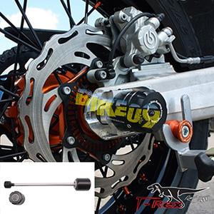티렉스 리어슬라이더 KTM 690앤듀로R, 690SMC R Rear Axle Sliders GB레이싱