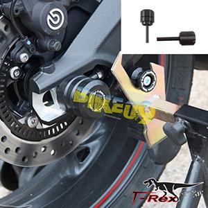 티렉스 리어슬라이더 트라이엄프 TRIUMPH 데이토나675, 데이토나675R, 스트리트트리플, 스트리트트리플R(05-17) Rear Quick Release Axle Sliders GB레이싱