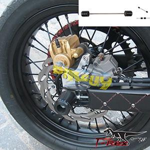 티렉스 리어슬라이더 야마하 YAMAHA WR250R, WR250X(08-16) Rear Axle Sliders GB레이싱