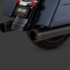 2017 블랙색상 할리 투어링 반스 머플러 OVERSIZED 450 RAIDER 슬립온