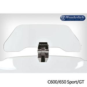 분덜리히 BMW C600 C650 Sport GT 보조스크린 deflector VARIO-ERGO+a - clear