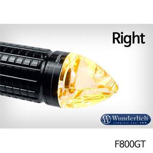 분덜리히 F800GT Motogadget m-Blaze cone indicator 우측용 블랙색상