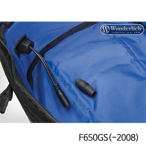 분덜리히 F650GS(-2008) Optimate tank backpack power supply