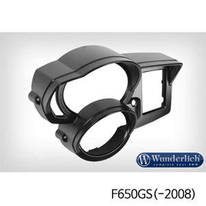 분덜리히 F650GS(-2008) Instrument Surround with Visor - black