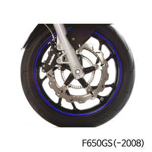 분덜리히 F650GS(-2008) Wheel rim stickers - blue