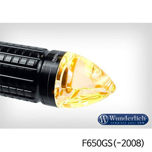 "분덜리히 F650GS(-2008) Motogadget ""m-Blaze cone"" indicator - left - black"