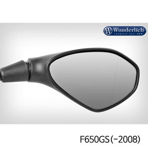 분덜리히 F650GS(-2008) Mirror glass expansion ?SAFER-VIEW - right - chromed