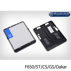 분덜리히 F650ST F650CS F650GS Dakar Number Plate Holder
