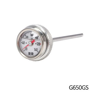 분덜리히 G650GS RR Oil temperature gauge Ø 50mm white - white