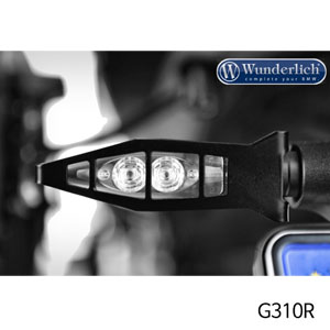 분덜리히 G310R indicator protection set front - Set 블랙