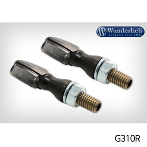 분덜리히 G310R LED tail light indicator pair SPARK tinted 블랙