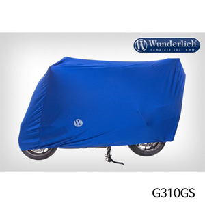 분덜리히 G310GS Bike cover Indoor - blue