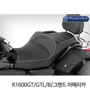 분덜리히 K1600GT GTL B 그랜드 아메리카 driver seat with seat heater ERGO 블랙