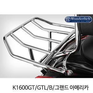 분덜리히 K1600GT GTL B 그랜드 아메리카 luggage rack K 1600 B 크롬