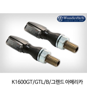 분덜리히 K1600GT GTL B 그랜드 아메리카 LED tail light indicator pair SPARK tinted 블랙