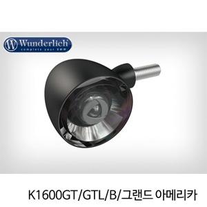 분덜리히 K1600GT GTL B 그랜드 아메리카 Kellerman Bullet 1000 (piece) - front 블랙