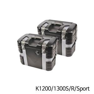분덜리히 K1200 K1300S R Sport Hepco & Becker Case Set Black Edition 블랙 실버