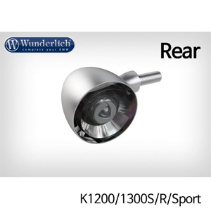 분덜리히 K1200/1300S/R/Sport Kellerman Bullet 1000 (piece) - rear - matt chrome