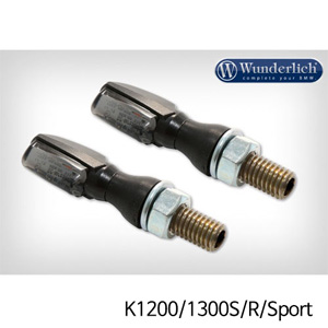 분덜리히 K1200/1300S/R/Sport LED tail light indicator pair SPARK tinted 블랙