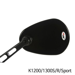 분덜리히 K1200/1300S/R/Sport Aspheric aluminium mirror body aspherical 블랙