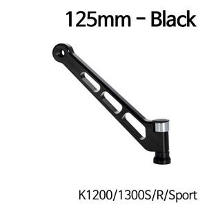 분덜리히 K1200 K1300S R Sport MFW aluminium mirror stem - 125mm 블랙
