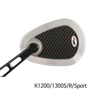 분덜리히 K1200 K1300S R Sport MFW aspherical aluminium mirror body - 카본-silver