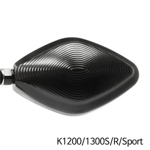 분덜리히 K1200/1300S/R/Sport MFW Naked Bike aluminium mirror housing 블랙