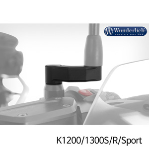 분덜리히 K1200/1300S/R/Sport mirror extension 블랙