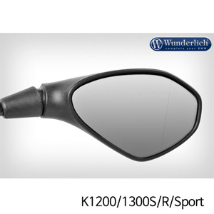 분덜리히 K1200/1300S/R/Sport Mirror glass expansion SAFER-VIEW- right - chromed