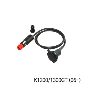 분덜리히 K1200/1300GT (06-) 탱크백 power supply (straight socket) - Straight plug