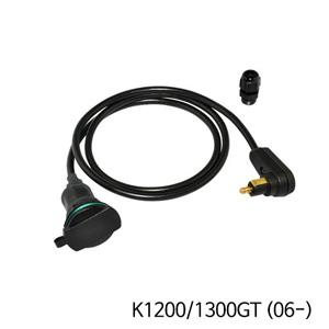 분덜리히 K1200/1300GT (06-) 탱크백 power supply (right-angle plug ) - Angled plug
