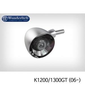 분덜리히 K1200 K1300GT (06-) Kellerman Bullet 1000 (piece) - front - matt chrome
