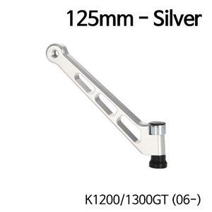 분덜리히 K1200/1300GT (06-) MFW aluminium mirror stem - 125mm 실버