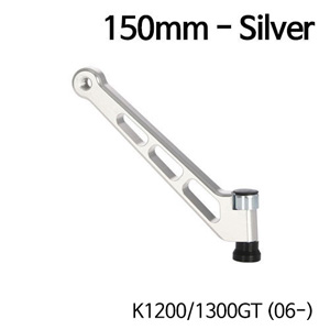 분덜리히 K1200/1300GT (06-) MFW mirror stem - 150mm 실버