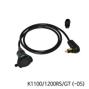 분덜리히 K1100 K1200RS GT (-05) Tank bag power supply (right-angle plug ) - Angled plug