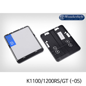 분덜리히 K1100 K1200RS GT (-05) Number Plate Holder