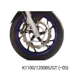 분덜리히 K1100 K1200RS GT (-05) Wheel rim stickers - blue