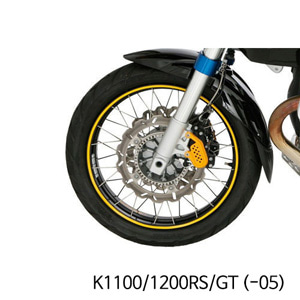 분덜리히 K1100 K1200RS GT (-05) Wheel rim stickers - yellow