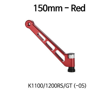 분덜리히 K1100 K1200RS GT (-05) MFW mirror stem - 150mm - red